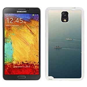 New Beautiful Custom Designed Cover Case For Samsung Galaxy Note 3 N900A N900V N900P N900T With Sea Battleship Ocean Nature (2) Phone Case