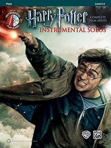 (Harry Potter Instrumental Solos: Flute, Book & CD (Pop Instrumental Solo Series))