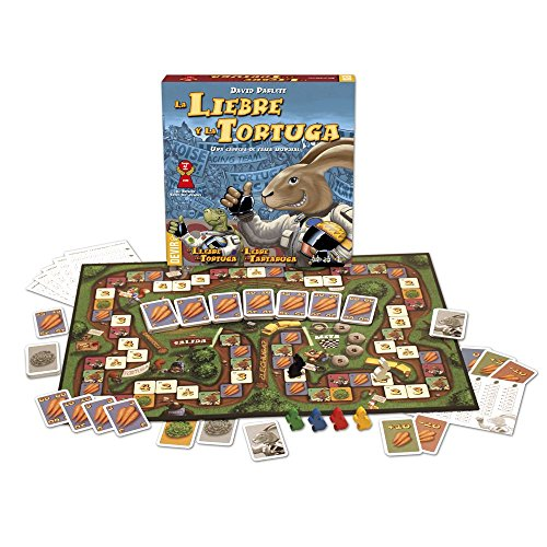 Devir-The Hare and The Turtle, Table Game (221756)