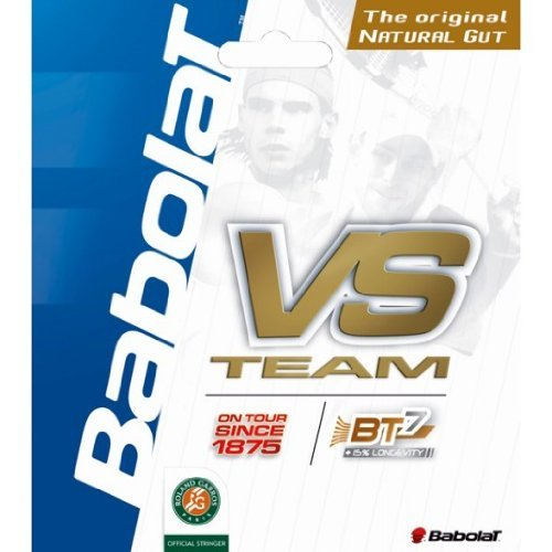 Babolat VS Team Natural Gut Tennis String-17g
