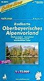 bikeline - Radkarte Oberbayerisches Alpenvorland (BAY16)