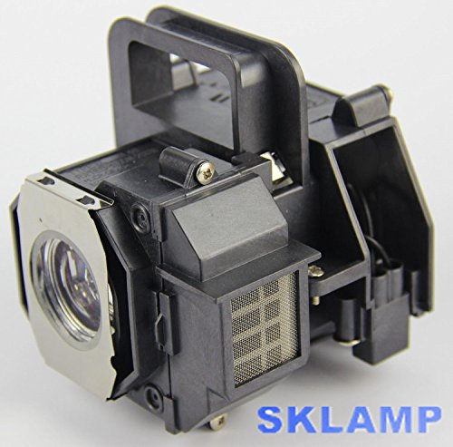 ELP49 V13H010L49 Projector Lamp Bulb with Housing Replacement for Epson Power Lite Home Cinema 8350 8345 by Woprolight (Image #3)