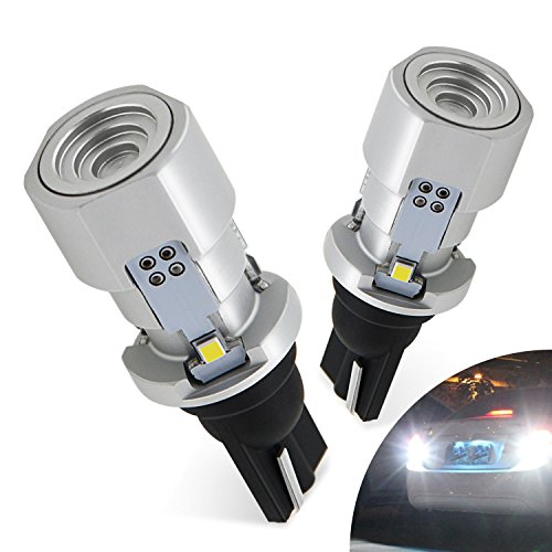 AUXITO 921 912 LED Bulb Canbus Error Free Super Bright 2020 SMD 2400 Lumens for Backup Reverse Light 6500K Xenon White