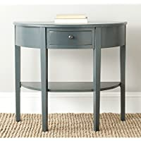 Safavieh American Homes Collection Abram Steel Teal Console Table