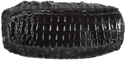 Poodlebags Funkyline - noble&smart - Wednesday 3FL0812WEDNB - Bolso para mujer Negro