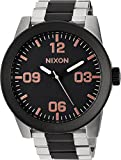Nixon Unisex The Corporal SS X High Caliber Collection Black/Rose Gold Watch