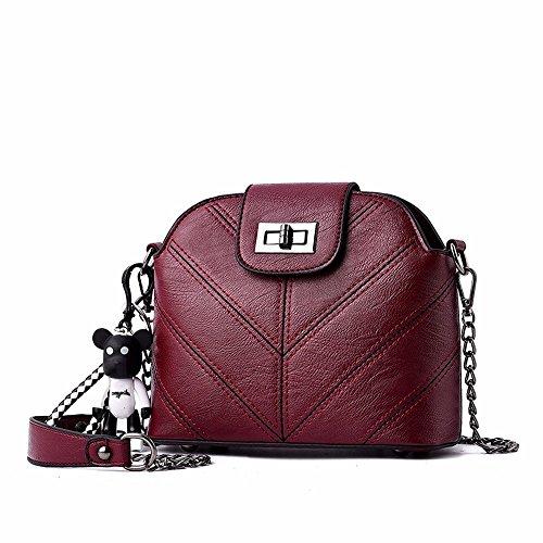 Bolso CCZUIML Las Crossbody rojo Mini Hombro del de de Paño Mujeres de Oxford Bronce Hombro Bolso del Bag AqwrTzPA