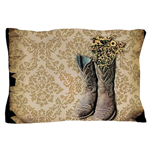CafePress Cowboy Boots Damask Western Country - Standard ...