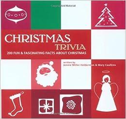 christmas trivia jennie miller helderman mary caulkins 9780517220702 amazoncom books - Christmas Trivia Facts