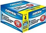 Rayovac 48 Pack AA Batteries, 815-48BX12F