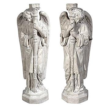 Design Toscano Set of Padova Guardian Angel Statues