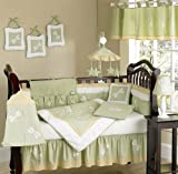 Sweet Jojo Designs Dragonfly Dreams Green Bug Neutral Baby Boy Girl Bedding 9pc Crib Set