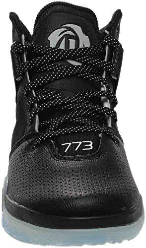 Adidas Prestaties Heren D Steeg 773 Iv Basketbalschoen Zwart / Zwart / Wit