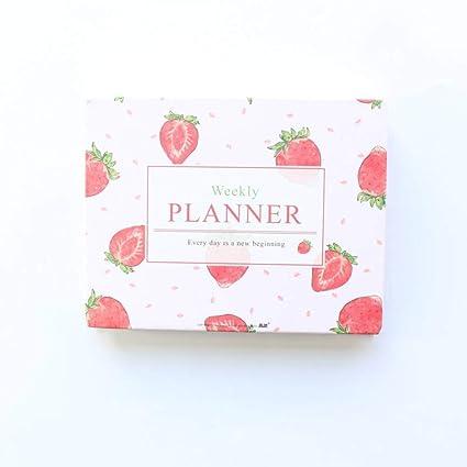 BJBCH Cuaderno De Planificador Semanal Diario De La Serie ...