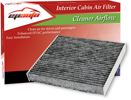 EPAuto CP182 (CF11182) Replacement for Honda Premium Cabin Air Filter includes Activated Carbon (Best Price For Honda Fit 2019)