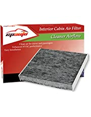 EPAuto Cabin Air Filter CP182 (CF11182) Replacement for Honda Premium includes Activated Carbon