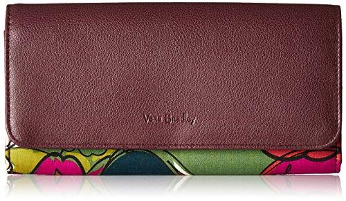 Vera Bradley Women's RFID Audrey Wallet, autumn leaves One Size