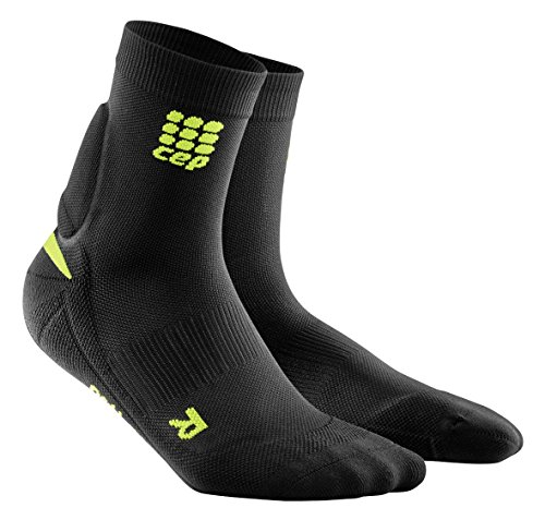 CEP Womens Ortho+ Achilles Support Short Socks w/ Long-Lasting Compression for Improved Circulation, Muscle Stability, & Quicker Recovery