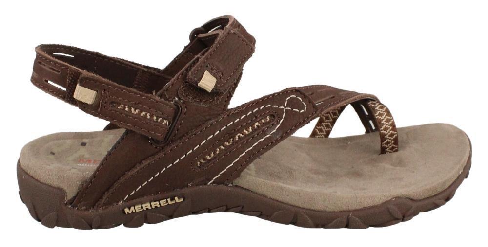 Merrell Women's Terran Convertible II Sandal, Dark Earth, 5 M US