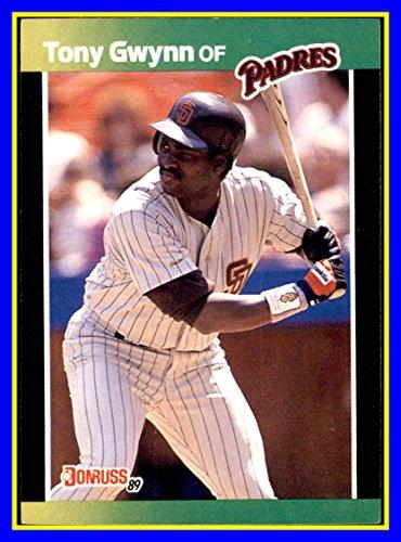 - 1989 Donruss Baseball's Best #42 Tony Gwynn RIP HOF SAN DIEGO PADRES