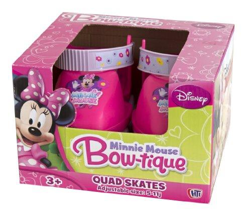 HTI - Minnie Mouse - Patins à Roulettes 4 Roues Junior - Taille ...