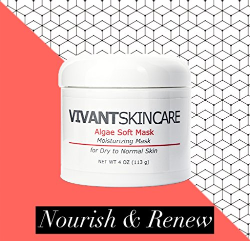 Mask Skin Impurity (Vivant Skin Care's Algae Soft Mask – Moisturizing mask that stimulates COLLAGEN and ELLASTIN production. CLEANSES impurities, REFINES pores and NOURISHES the skin!)