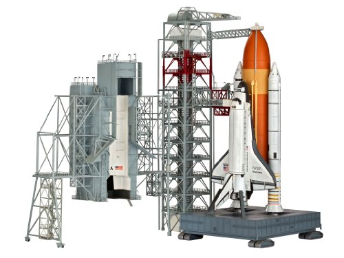 Revell Launch Tower & Space Shuttle & Booster Rockets 1/144 Scale Model #4911 (Space Shuttle Model compare prices)