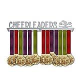 Cheerleaders Medal Hanger Display   Sports Medal Hangers   Stainless Steel Medal Display   by VictoryHangers - The Best Gift for Champions !