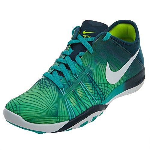 Womens Nike Free Tr 6 Scarpe Da Allenamento Clear Jade / White / Mid Turquoise / Volt