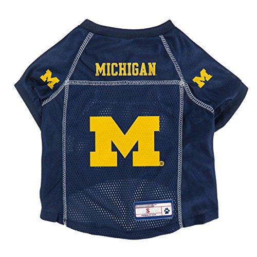 NCAA Michigan Wolverines Pet Jersey, XS
