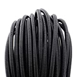 "100 FT 1/4"" Wire Loom Split Tubing Auto Wire"