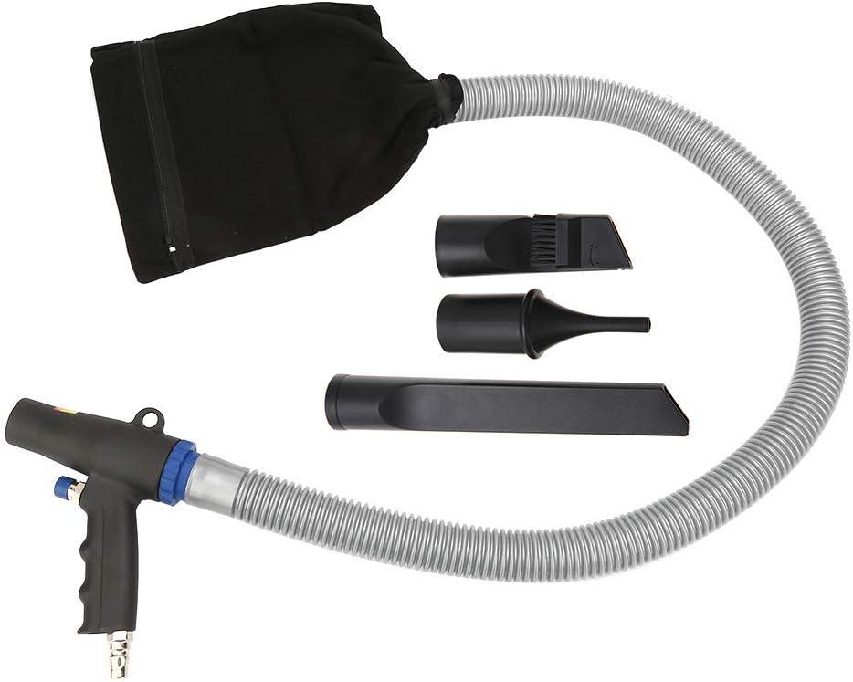 Pistola de compresor de aire, herramienta de limpieza neumática tipo pistola de aire comprimido de alta presión de aire comprimido 100 cm con boquilla de 22/12 / 11cm