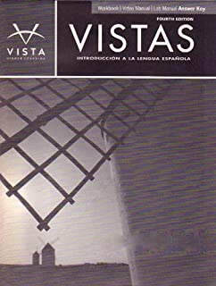 Amazon vistas 4th edition introduccin a la lengua espaola vistas introduccin a la lengua espaola 4th ed workbookvideolab fandeluxe Image collections