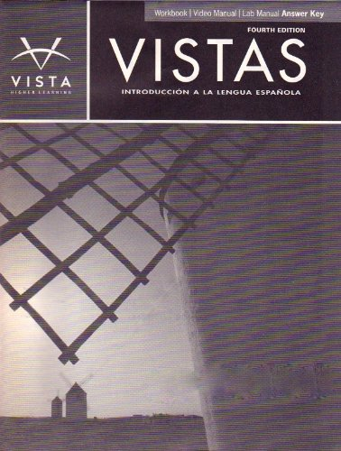 Vistas 4th edition lab manual answer key ebook 80 off images free vistas introduccin a la lengua espaola 4th ed workbookvideo vistas introduccin a la lengua espaola 4th fandeluxe Image collections