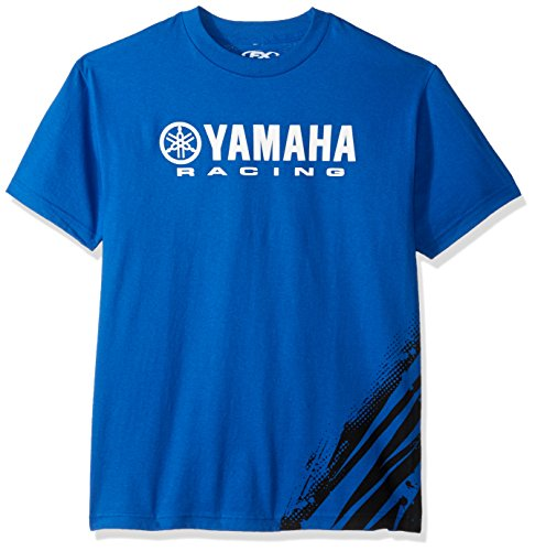 Factory Effex 14-88180 Yamaha' Flare T-Shirt (Blue, Medium)