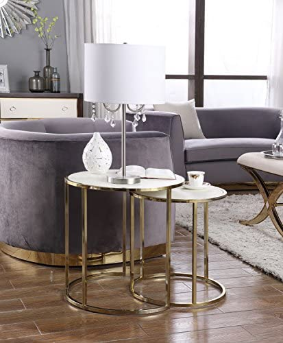Iconic Home Tuscany Side Table - the best living room table for the money