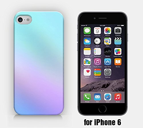 for iPhone 6/6S - Ombre Color - Blue & Pink - Ship from Vietnam - US Registered - 6 Color Ombre Case Iphone
