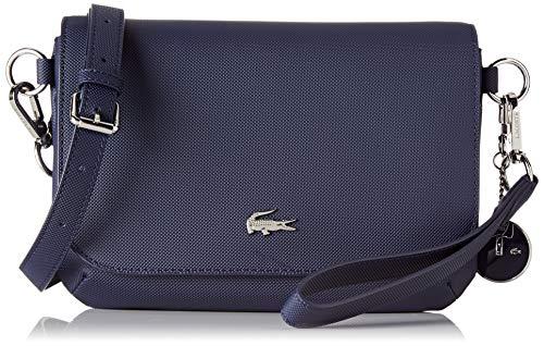 Lacoste - Daily Classic, Bolsos bandolera Mujer, Azul (Peacoat), 5x17x24.5 cm (W x H L)