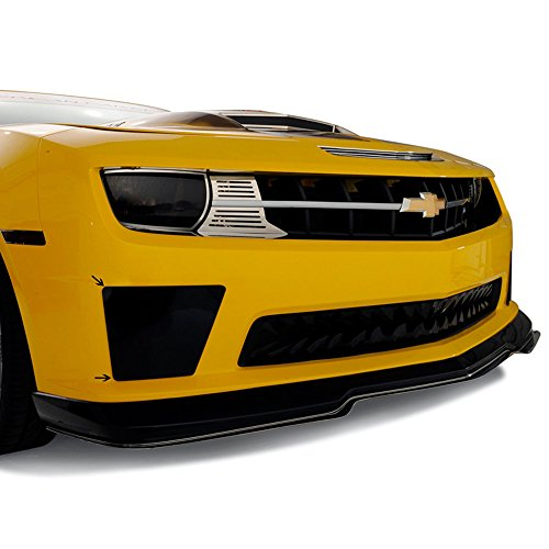 - Upgrade Your Auto Smoked Bumblebee Style Fog Light Covers for 10-13 Chevy Camaro SS w/Front Fascia