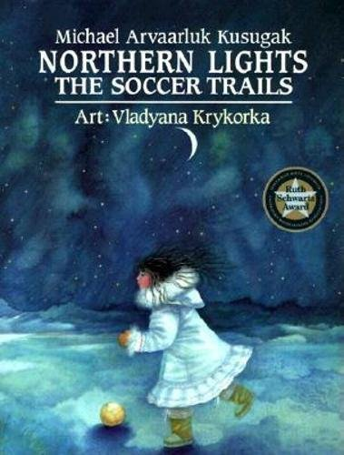 Island Light Aurora (Northern Lights: the Soccer Trails)