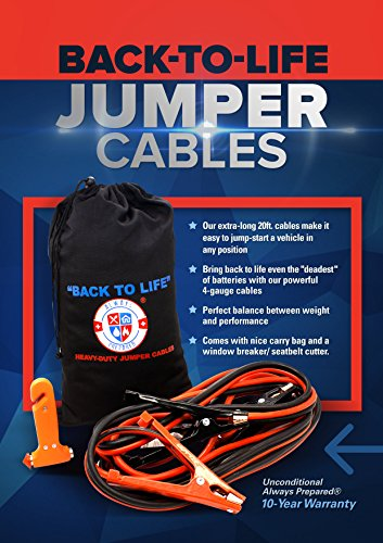 Jumper-Cables-4-Gauge-Extra-Long-20-Feet-High-Capacity-400-AMP-Tough-Insulation-with-Heavy-Duty-Alligator-Clamps-High-Performance-Battery-Booster-Cable-w-Bag-Emergency-Tool-Window-Breaker