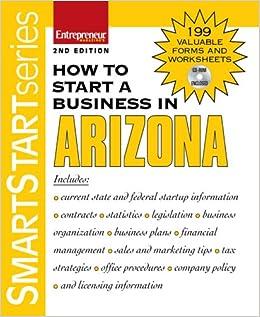 Start a Business in Arizona (Smart Start): Entrepreneur ...