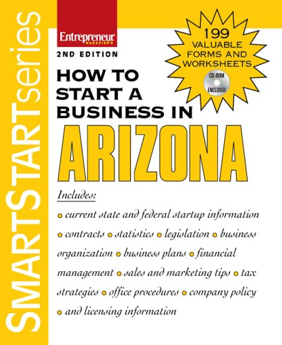 How to Start a Business in Arizona: Entrepreneur Press ...