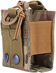 Interphone Bag, Nylon Military Tactical Radio Intercom Storage Pouch Military Water Bottle Pouch