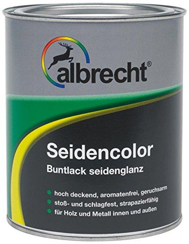 Albrecht Seidencolor Buntlack seidenglanz RAL 7035 375 ml, grau, 3400505850703500375