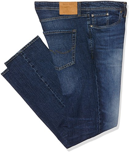 Jack & Jones Men's Tim Original 012 Slim Fit Jeans, Blue, 36W x 34L