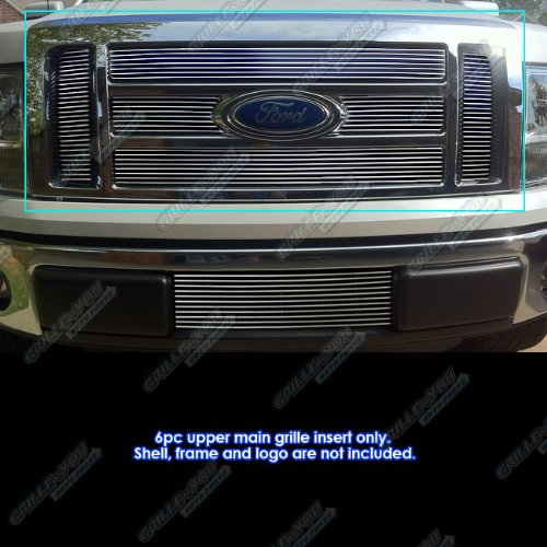 - APS Fits 09-11 2011 Ford F-150 Lariat/King Ranch Main Upper Billet Grille #F66788A