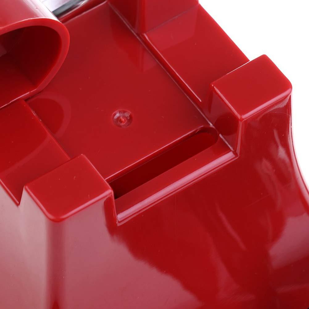 Yililay Tirelire en Forme de T/él/éphone en Plastique T/él/éphone Tirelire Retro T/él/éphone Ligne Tirelire Tabletop D/écoration Photographie Props Cadeau de No/ël Anniversaire pour Enfant Rouge