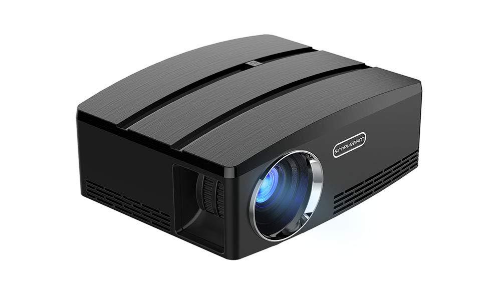 Video Proyector,Portátil Proyector de Cine en Casa 1800 Lumen ...
