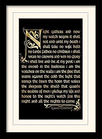 1art1 101689 Game Of Thrones Der Eid Der Nachtwache